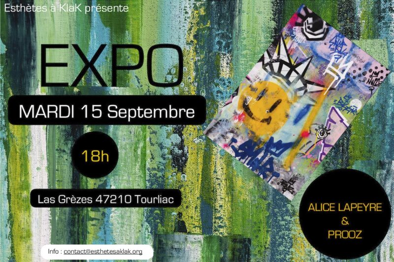 Exposition d'oeuvres d'arts !!!